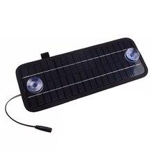 12 В 4.5 Вт Портативный Мощность Панели солнечные Батарея Зарядное устройство для автомобиля мотоцикла лодка