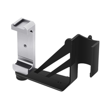 Handheld Mobile Phone Clip Holder Support Tripod Bracket For Osmo Pocket Fixed Mount Stand With Cold Shoe 1/4 Inch Screw ulanzi st 02s 65mm to 95mm tripod phone mount with cold shoe 1 4 screw phone mount stand clipper for iphone x 8 7 plus samsung
