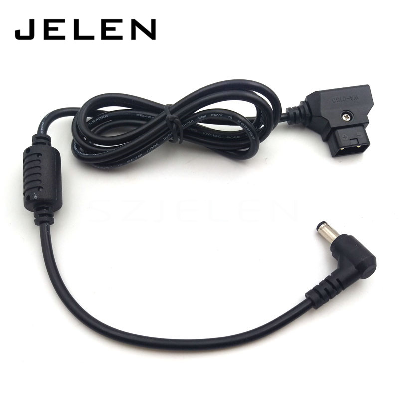 Camera Monitor Power Cord, D -Tap Switch 5.5 * 2.5 DC Power Cord