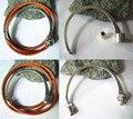 4 компл. старинное серебро половина манжеты магнитной застежкой для 3 mmRound кожаный браслет выводы