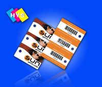 Plastica 3 parte key card e 3up combo key card, Personalizzato fustellate scheda di alimentazione