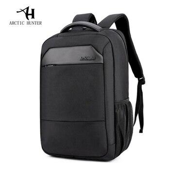 ARCTIC HUNTER New Casual Male Mochila Men's Shoulder Bag Nylon Waterproof College Students Bag Computer Bag Backpack Schoolbag
