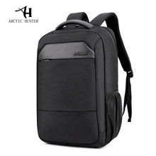 ARCTIC HUNTER New Casual Male Mochila Men's Shoulder Bag Nylon Waterproof College Students Bag Computer Bag Backpack Schoolbag(China)