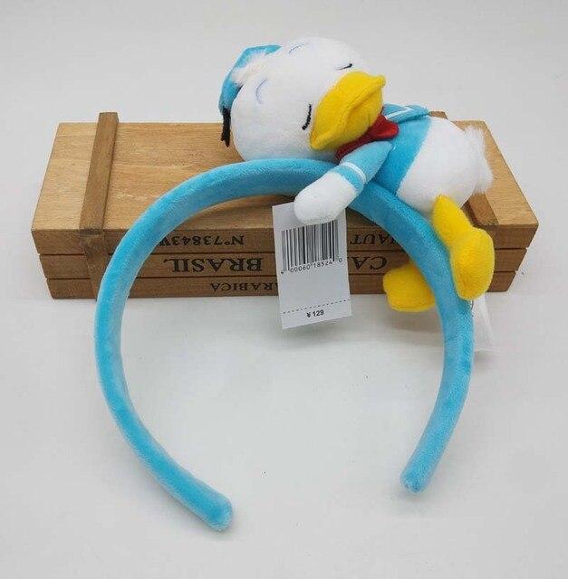 Minnie mickey mouse Donald canard porcelet tigrou oreilles de couchage déguisement bandeau Cosplay peluche adulte/enfants bandeau