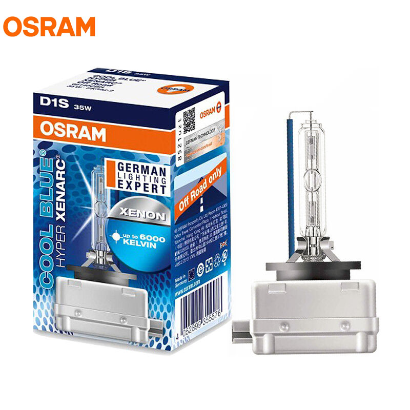1X OSRAM D1S 35W 66140CBH 6000K COOL BLUE HYPER Xenon Cool Blue Lighting Headlight Off Road HID Light For Refit Upgrade Bulb 2 pieces oem for osram d1s 66144 cbi xenon bulb 4300k and 5500k