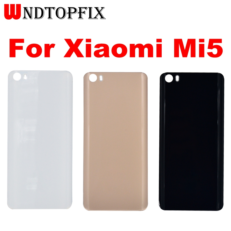 For <font><b>Xiaomi</b></font> <font><b>Mi5</b></font> Back <font><b>Cover</b></font> Case Protective <font><b>Battery</b></font> Back <font><b>Cover</b></font> housing Replacement 5.15