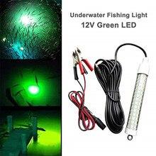 12 فولت 120LED 1000 لومينز إغراء الطعم 10 واط ليلة الصيد مكتشف ضوء المصباح shads الصيد LED قارب الصيد العميق قطرة مصباح تحت الماء