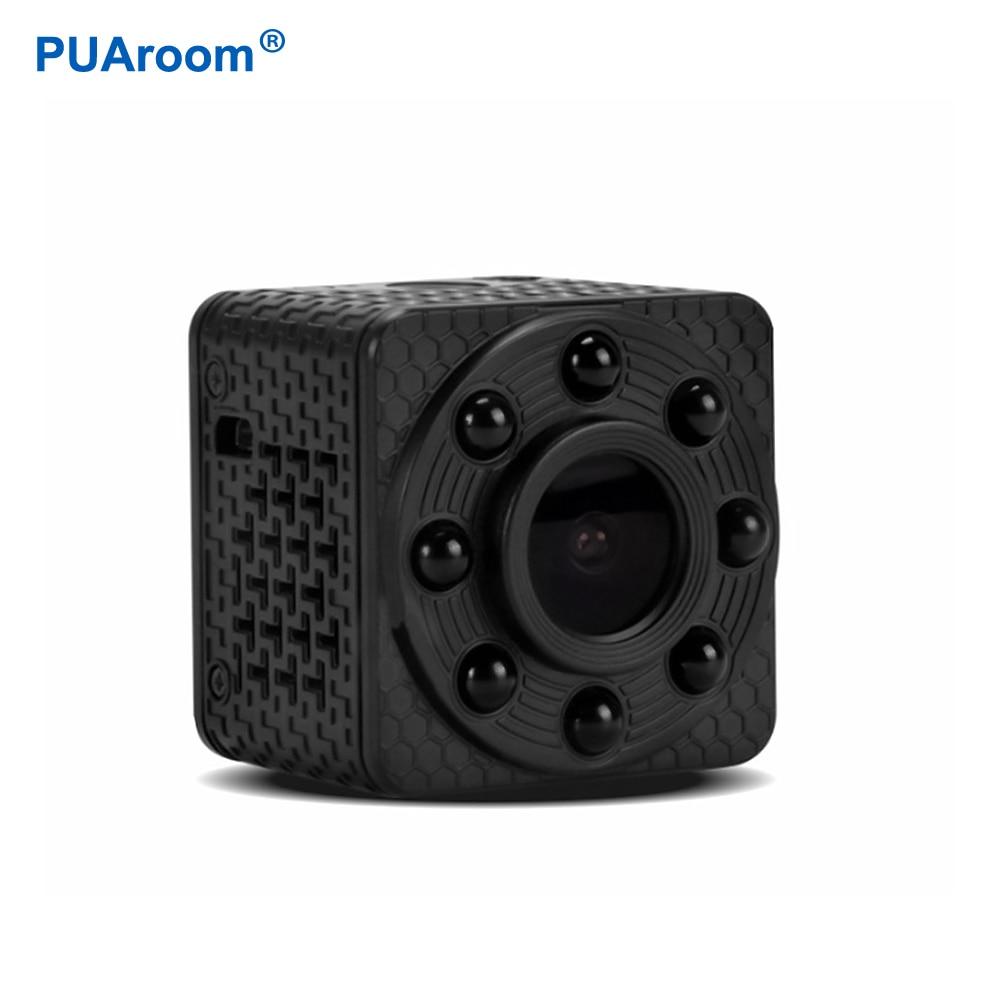 PUAroom mini camera 1080P IP mini wifi camera mini night vision recording home security mini camera motion detection camera