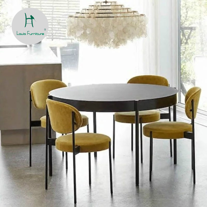 Phenomenal Us 138 9 Louis Fashion Living Room Chairs Nordic Dining Milk Tea Shop Western Restaurant Simple Personality In Living Room Chairs From Furniture On Spiritservingveterans Wood Chair Design Ideas Spiritservingveteransorg