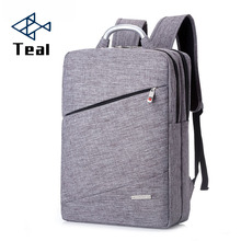 2017 New metal portable fashion business men and women backpack laptop Student travel Designer multi-function