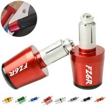 Для Yamaha FZ6R FAZER600 FZ6S/FZ6N FZ6R FZ6 FAZER 2005-2010 22 мм гири руля ручки крышки мотоцикла ручная акустическая система концы вилки