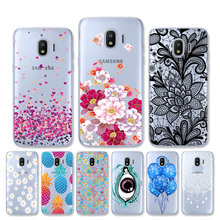 Case For Samsung Galaxy J2 2018 J2 Pro 2018 Case J250F Soft Silicone TPU Cover For Samsung J2 Prime Core Protector Fundas аксессуар чехол книга innovation для samsung galaxy j2 2018 book silicone silver 11475