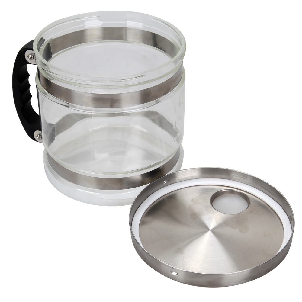 High Quality 4L Pure Water Stainless Steel Water Distiller Purifier Body Filter with Glass Jar - 4