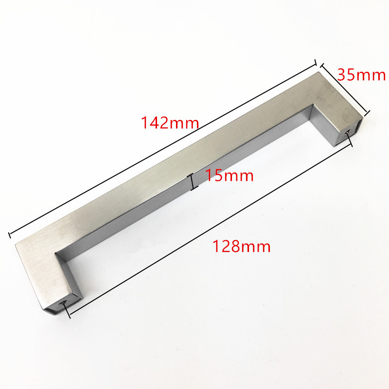 Wholesale Price 10pcs Cabinet Door Handle Cupboard Drawer Pull Furniture Handle for Cupboard/Kitchen Closet Hardware Accessories 2pcs set stainless steel 90 degree self closing cabinet closet door hinges home roomfurniture hardware accessories supply