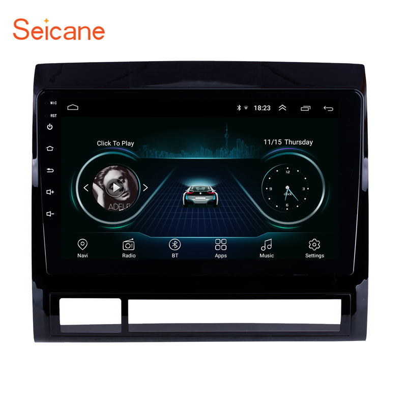 Seicane Android 8 1 GPS Navigation 9 Car Stereo for TOYOTA TACOMA HILUX America Version 2005