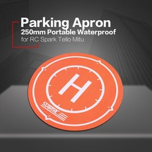 Waterproof Pad 250mm Portable Landing Parking Apron 25cm Foldable for DJI Spark Tello Xiaomi Mitu Mini RC FPV Racing Drone