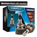 9000LM H11 LED Car Headlight Kit CSP Chips 60W Set 30W Bulb 6000K High Low Beam Fog Lights 60W Nighteye