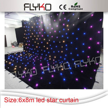 High Quality Led Star Curtain LED Backdrops for DJ Stage Wedding Backdrops