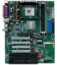 Novo 845 Original 845GV 845GL ISA Mainboard 478 p 4*3 * Slot ISA PCI ISA Motherboard máquina de trituração industrial Substituir G4V620 B G