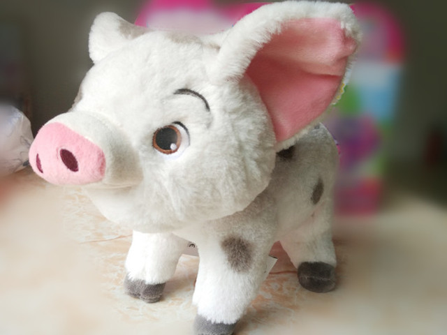 Cute Princess Moana Pua Pig Plush Toy Stuffed Animals 25cm 10inch Baby Kids Toys for Children Gifts