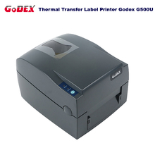 Godex G500U label & barcode printer 108mm printing width support Jewelry tag and clothing tag impressora multifuncinal