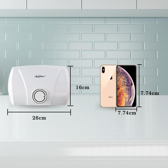 178 V-240 V 3000 W Küche Verwenden Elektrische Wasser Heizung Ohne Tank HüBsch Und Bunt