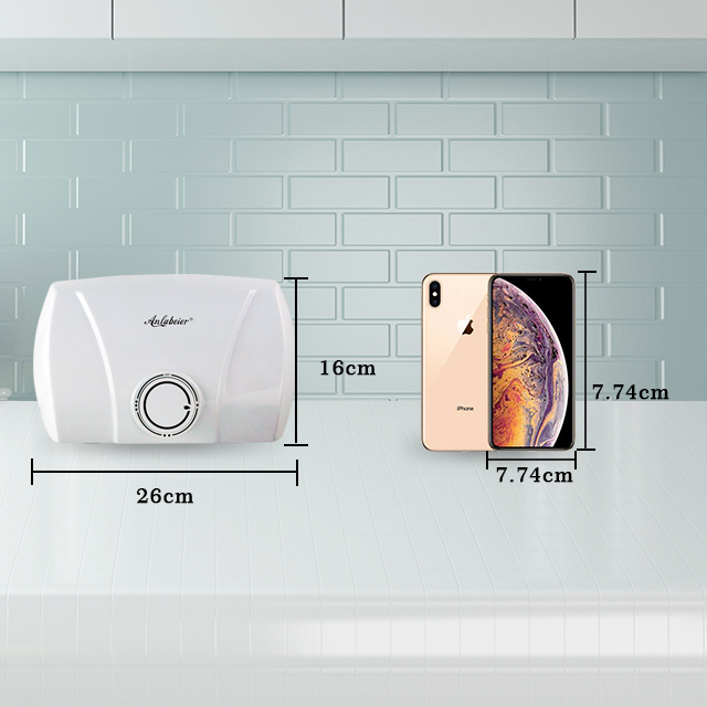178v-240v 3000W Kitchen Use Electric Water Heater Without Tank