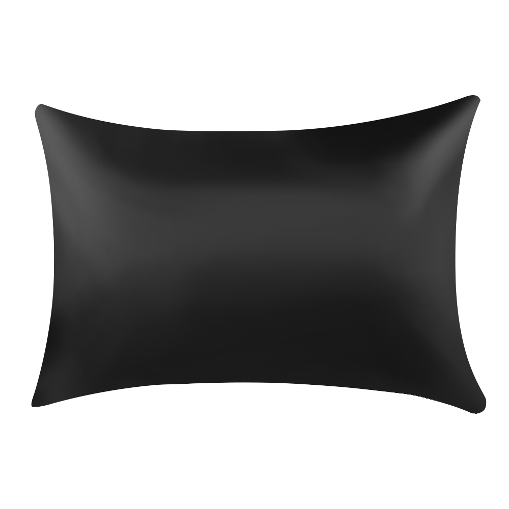 Urijk 1pc Pure Emulation Satin Silk Pillowcase Square