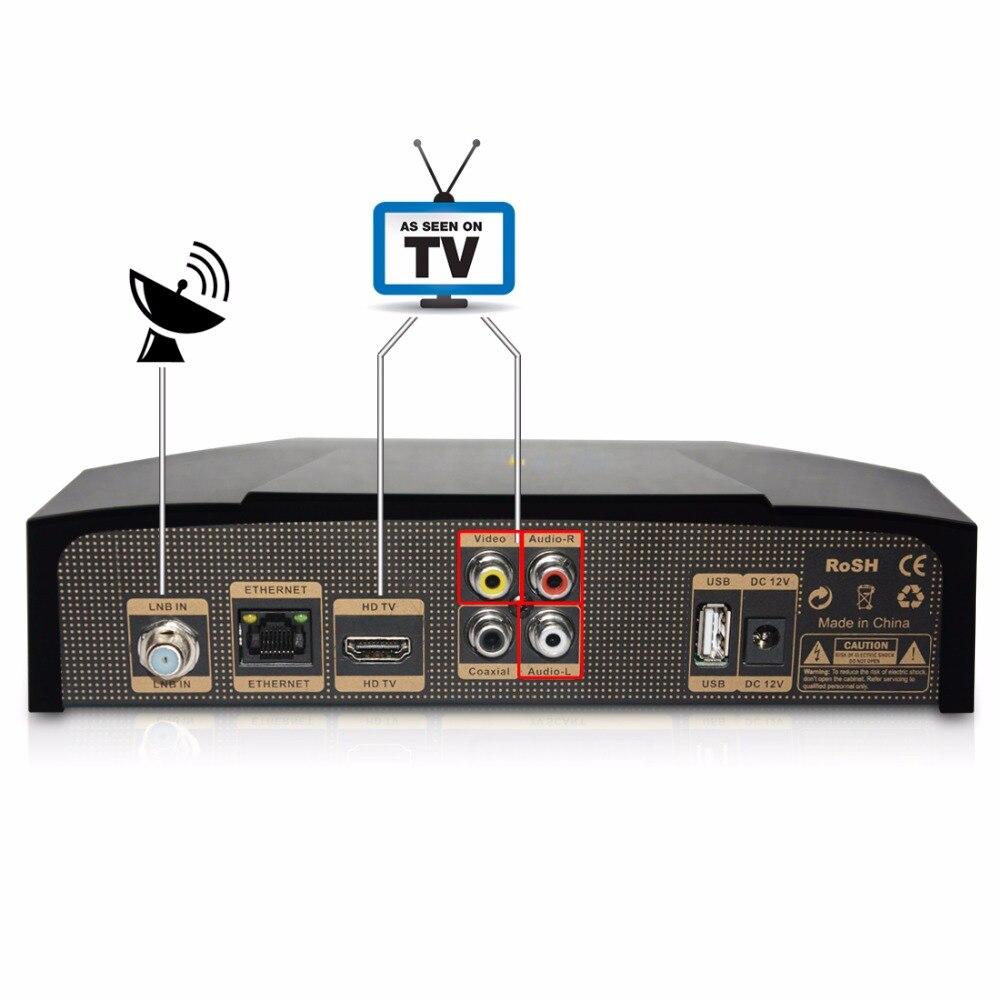 5PCS SOLOVOX V9S DVB S2 HD Satellite font b Receiver b font USB Port WEB font
