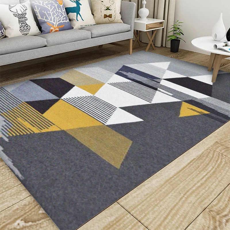 Loutai современный супер мягкий бархатный ковер с рисунком пером коврик прикроватное одеяло коврик для улицы молитвенный салон домашний коврик для