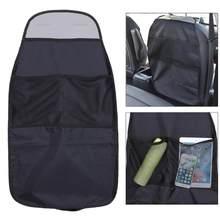 À prova dwaterproof água universal assento de automóvel volta organizador saco de armazenamento assento de carro volta scuff sujeira proteger capa para a criança do bebê miúdo kick esteira almofada