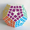 Nueva Shengshou Maestro Kilominx Cubo Mágico Profesional 4x4x4 PVC y Mate Pegatinas Cubo Megaminx Magia Puzzle velocidad Juguetes Clásicos