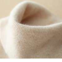 High Quality 100% cashmere Women Sweaters and Pullovers Winter Autumn Knitted Turtleneck Ladies Sweater XRYR119