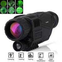 5x40 Infrared Digital Night Vision Telescope High Magnification with Video Output for Hunting Monocular 200M View