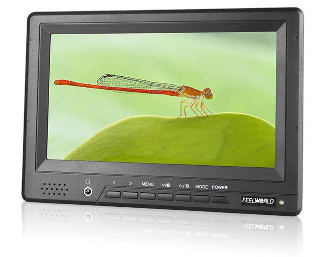 """Бесплатная доставка! Feelworld FW678HD/O 7 """"HDMI Камеры Верхнее Поле AV Монитор ж/Пиковый Focus Assist"""