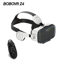 New BOBOVR Z4/ Bobo Mini 3D Virtual Reality 3D VR Glasses Private Theater Immersive with Headphone + Bluetooth Game Controller