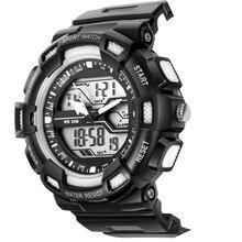 Спортивные Цифровой СВЕТОДИОДНЫЙ Военные Автоматические водонепроницаемые часы Моды для Мужчин Часы лучшие качества часы армия наручные часы военный открытый dw