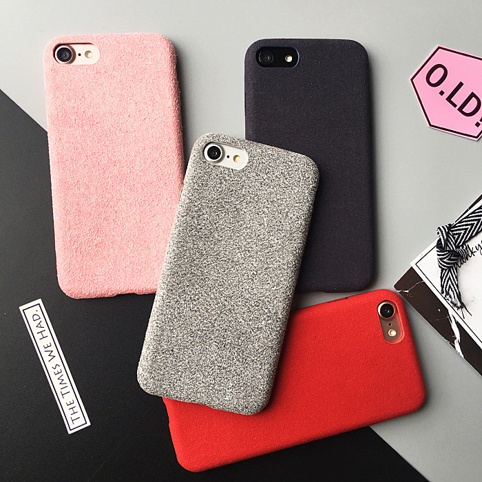 HOT Korea Fashion microfiber Phone Case For Iphone 6 6s