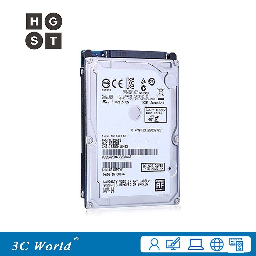 Used Internal Hard Drive 60gb 25 Inch Disk Ide Hdd 8mb Hardisk 80gb Original Hgst 5400rpm Cache 95mm Ata Laptop