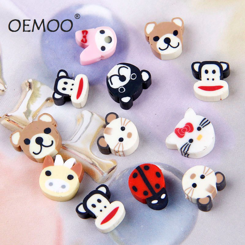 Image of: Polar Bear 30pcs Polymer Clay Animals Deco Beads Toppings Fake Faux Sweets Decoden Kawaii Cabochon 10mmin Figurines Miniatures From Home Garden On Aliexpresscom Youtube 30pcs Polymer Clay Animals Deco Beads Toppings Fake Faux Sweets