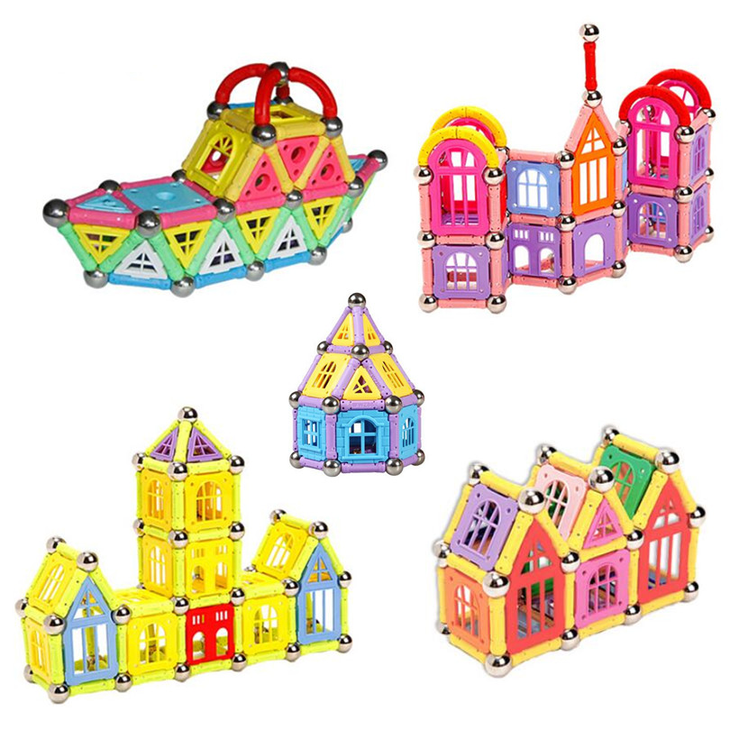 Children  S Magnetic Building Toys