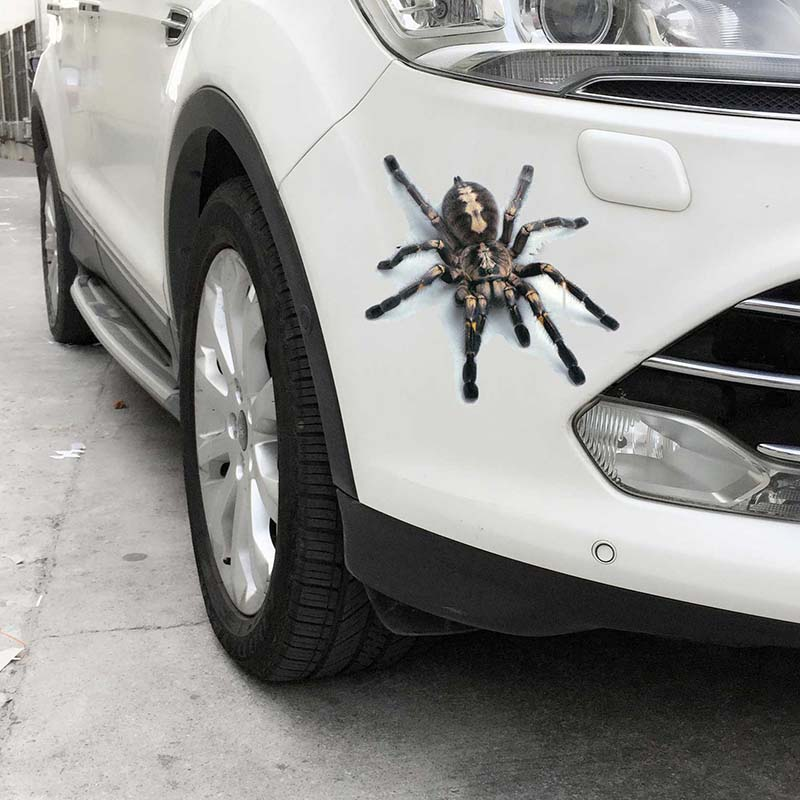 Hot 3D PVC Car Sticker Lizard Scorpion Spider Car Body Window Sticker Decal JLD