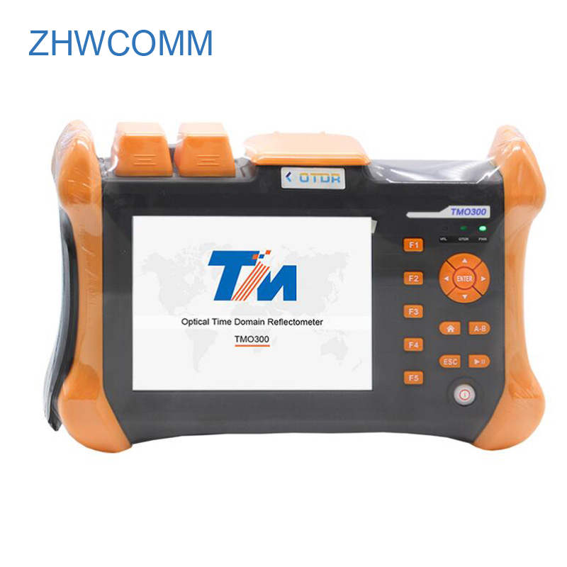 ZHWCOMM OTDR TMO-300-SM-B Touch Screen Optical Time Domain Reflectometer 1310/1550nm 30/28dB,Integrated VFL OTDR