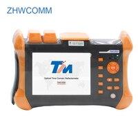 Zhwcomm OTDR tmo-300-sm-b Сенсорный экран оптический рефлектометр 1310/1550nm 30/28db, интегрированный VFL OTDR