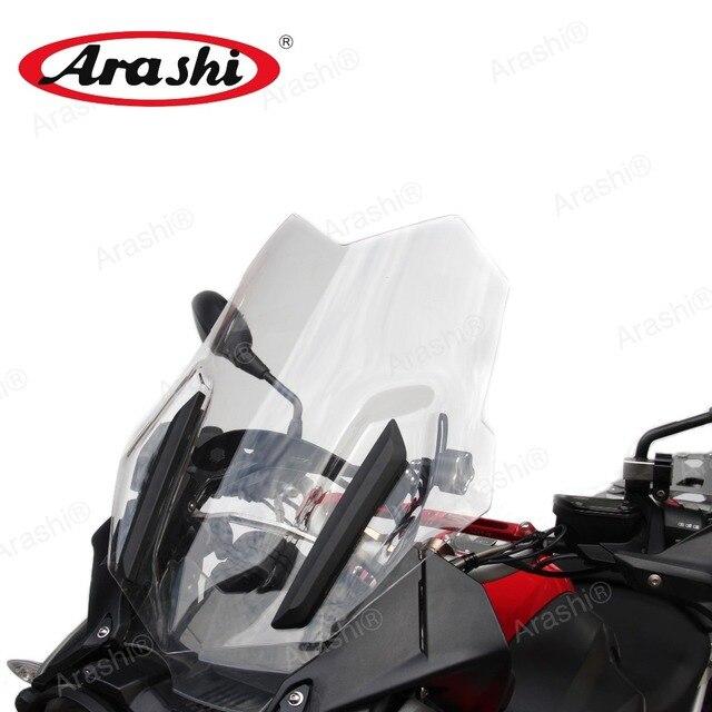 ARASHI For BMW R1200GS LC Adventure 2014  Windscreen Reinforcement Bracket Adjustable Support Mount R1200 GS R 1200 1200GS 2014
