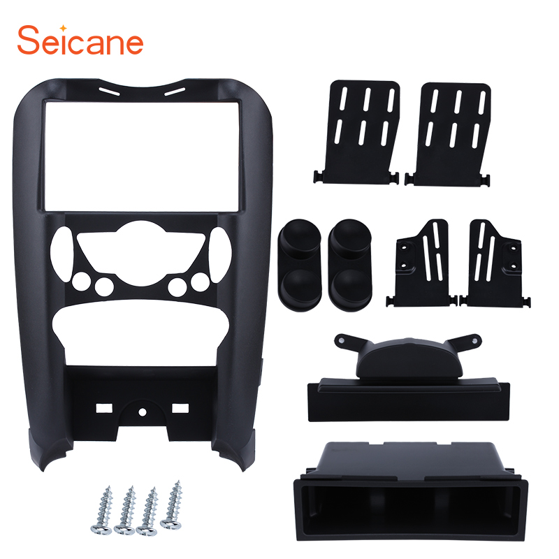Seicane 178*100mm 2Din Car Radio Fascia Trim Kit Stereo DVD Player Panel Installation Frame For BMW Mini Cooper R55 R56 R57Seicane 178*100mm 2Din Car Radio Fascia Trim Kit Stereo DVD Player Panel Installation Frame For BMW Mini Cooper R55 R56 R57
