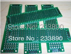 10pcs pcb prototype PCB Board Double-Side PCB 5x7 4x6 3x7 2x8CM, wholesale