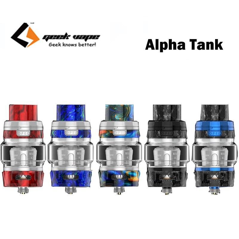 Geekvape Alpha Sub Ohm Tank Top Filling Mellow Mesh Coils Atomizer Fit Aegis Legend Mod