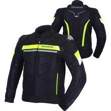BENKIA Motorcycle Racing Jacket Windproof Jacket Motorcycle Men Moto Motocross Racing Jacket Detachable Windproof Liner