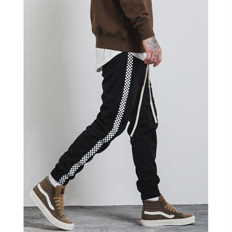 Mens Joggers Harem Pants Men Track Long Trousers Men Sweatpants Loose Men Track Pants With Side Stripe Men Pants
